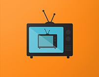 T.V. Show Vector Posters