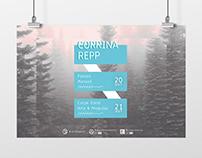 Corrina Repp concert // poster + FB cover