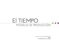 Design Thinking | EL TIEMPO: Modelo de Producción