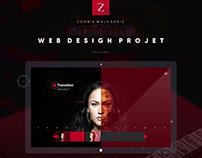 Web design | Zombie Walk - 2017