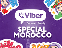 Viber stickers special morocco
