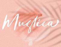 FREE | Mustica Handwritten Script