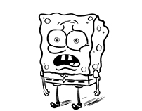 SpongeBob Squarepants Storyboards