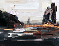 360 degree landscape paintings