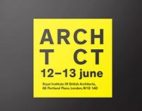 ARCHTCT 15, RIBA Branding