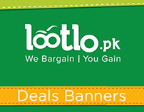 Lootlo.pk TouchBeauty Products Banners