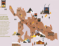 Maps Compass Quarterly Luxury Winter holiday