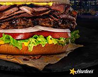 Hardee's/Carl's Jr. New York Deli Burger Sandwich
