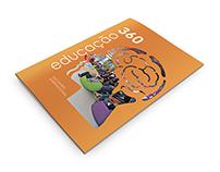 """Print and digital book """"Educação 360"""""""