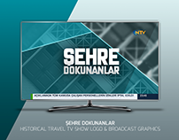 ŞEHRE DOKUNANLAR | TRAVEL TV SHOW LOGO AND GRAPHICS