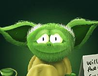 Homeless Yoda