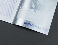 Brochure design for Quintessential