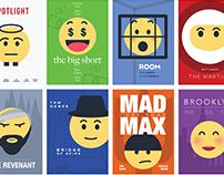 Oscars emoji Posters