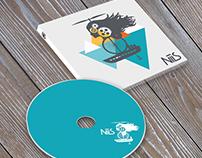 NILS/ cd design / logo design