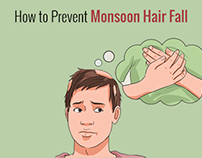 How to Prevent Monsoon Hair Fall