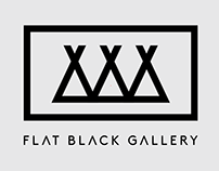 Flat Black Gallery - Logo Creation