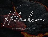 Halmahera Handwritten Font