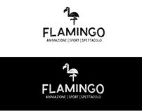 Logo design FLAMINGO
