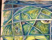 Ninja Turtle: Abstract Art Workflow