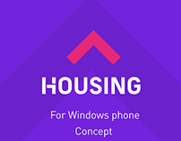 Housing.com-App concept for Windows  phone