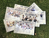 CBU Athletics Spring Posters