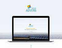Groupe Advens - Website