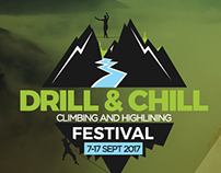 Drill and Chill/ Climbing and Highlining Festival 2017