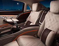 MERCEDES-MAYBACH Full CG Interiors & Exteriors
