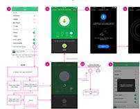 misfit控制家居设备UI交互