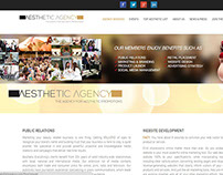 Aesthetic Agency Website Design