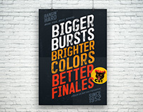 Black Cat POS Poster Series