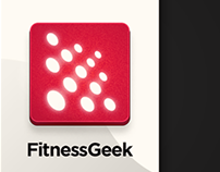 FitnessGeek - App Icon Design