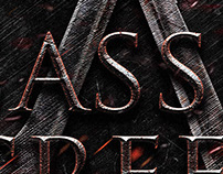 Assassin's Creed-Title Poster Design-Pranaytony