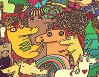"""Horse Majeure"" ArtCalendar2014"
