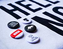 Die Antwoord // Badges & Stickers Design