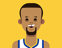 Steph Curry animation