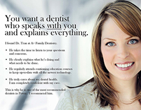 A+ Family Dentistry Postcard 1