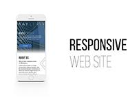 Corporate style (responsive)