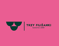 "Brand Design - Cafe ""Trzy Filiżanki"""
