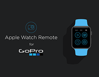 Apple Watch - iPhone - GoPro Remote Control