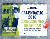 Calendario #ConfesionesGráficas 2016