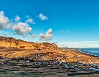 Vik from the Cliff