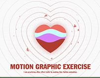 Motion Graphic practice