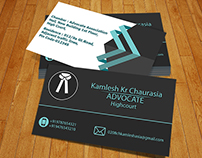 Advocate Visiting Card