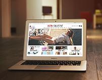 Urban Collective Website (Desktop)