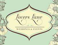 Lovers Lane Weddings & Events Logo