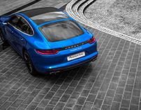 Porsche Panamera Turbo - Photoshoot