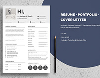 Portfolio Free Resume Template