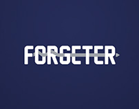 FORGETER - Landing Page