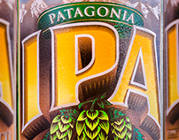 PATAGONIA IPA – Label Design